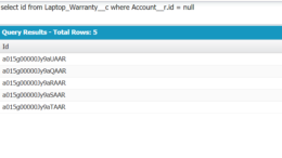 Query Results